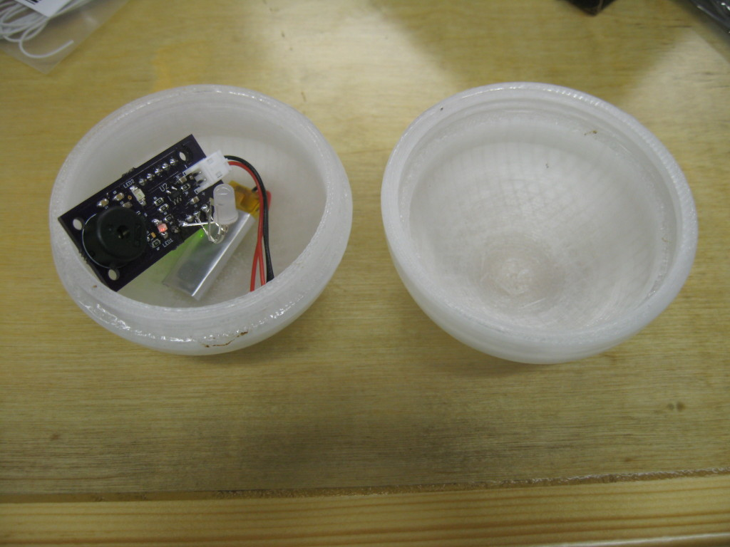 Custom PCB much cleaner than breadboarding